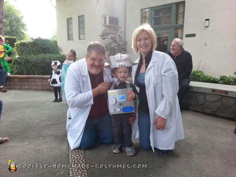 L-BOT with scientist parents