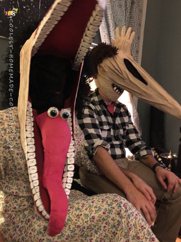 Awesome Beetlejuice Couple Costume: Resurrecting Adam and Barbara Maitland