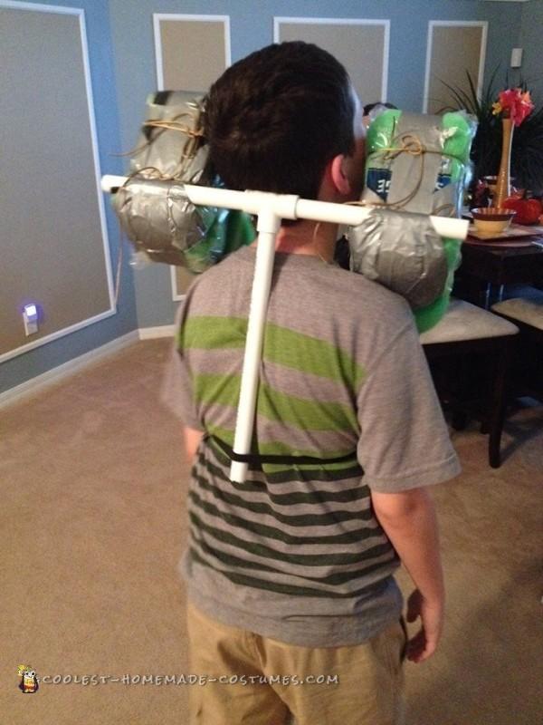 PVC pipe shoulders