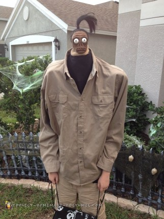 Beetlejuice Shrunken Head Man Costume