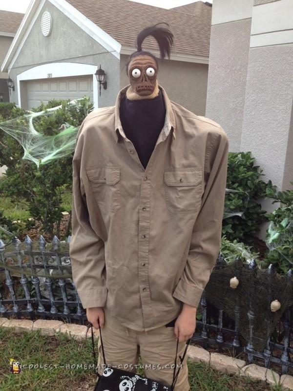 Beetlejuice Shrunken Head Man Costume - 8