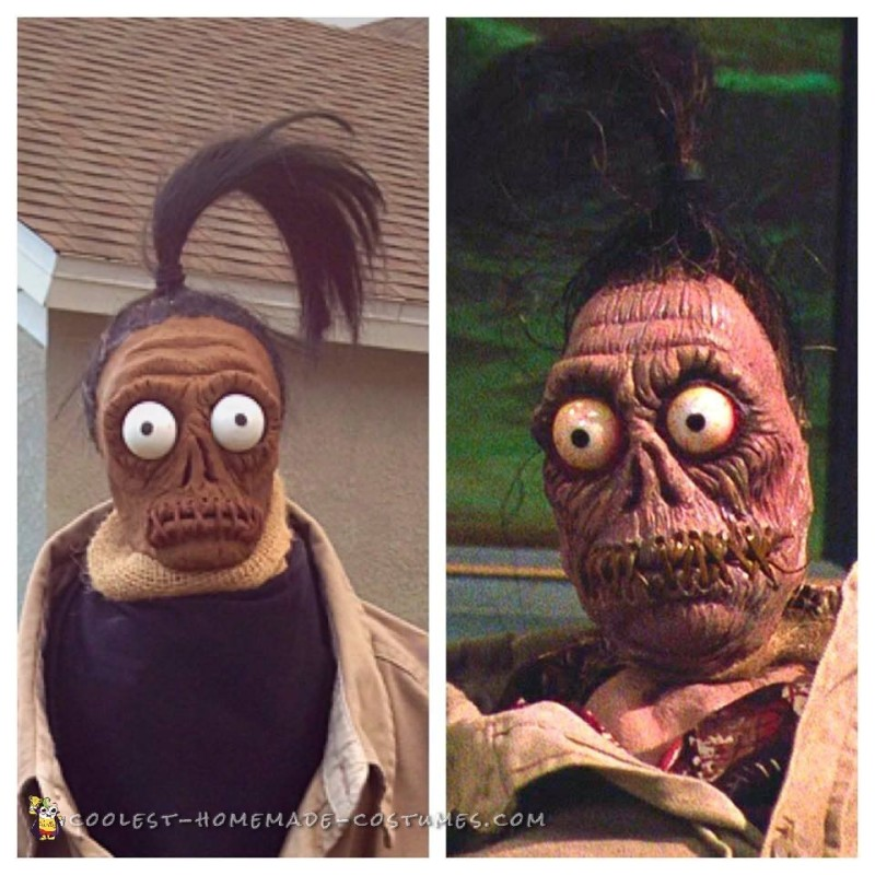 Beetlejuice Shrunken Head Man Costume - 5
