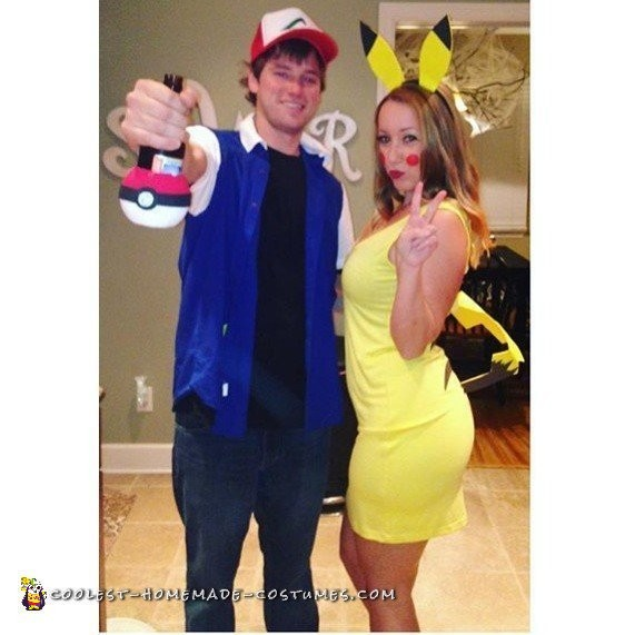 Best Ash and Pika Pika Costumes Ever