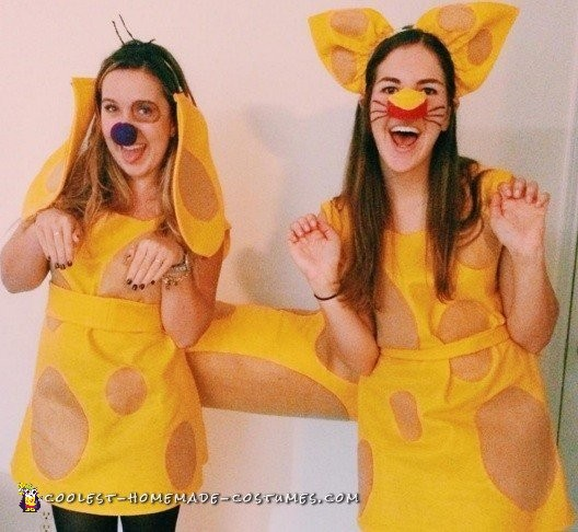 Best Catdog Costume Ever!