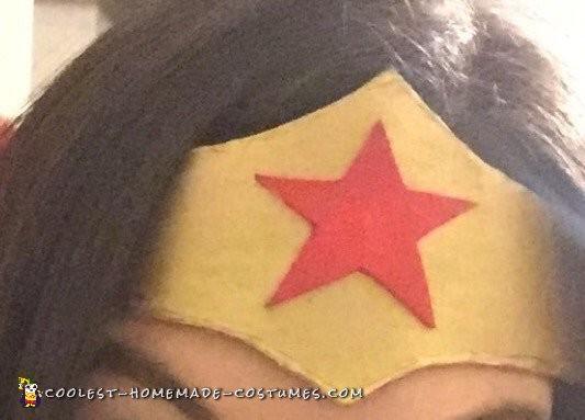 Best Ever Homemade Wonder Woman Costume - 4