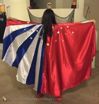 Best Ever Homemade Wonder Woman Costume