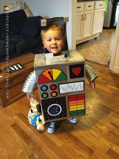 Best Robot Costume Ever
