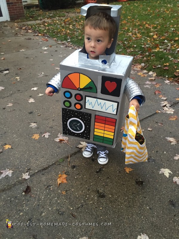 Best Robot Costume Ever