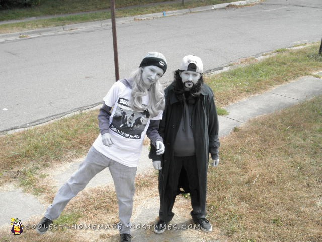 Black and White Jay and Silent Bob From Clerks