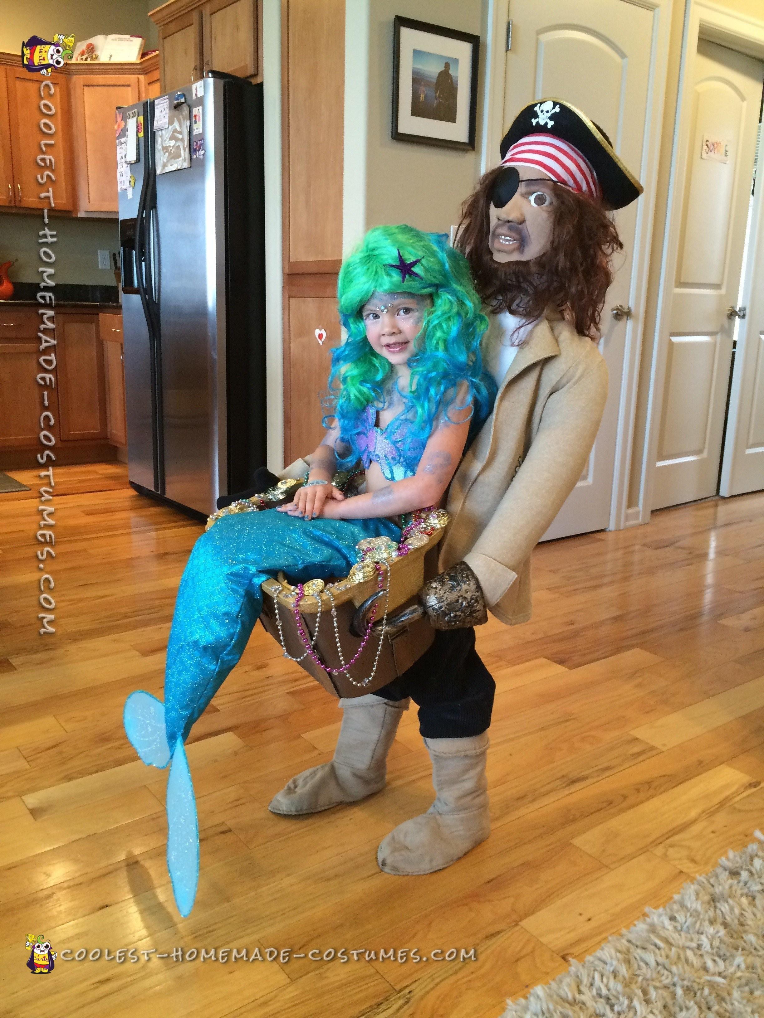 Blackbeard Discovers Mermaid Illusion Costume