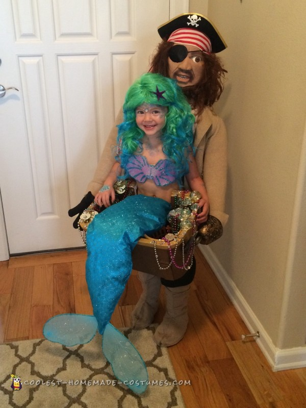 Blackbeard Discovers Mermaid Illusion Costume