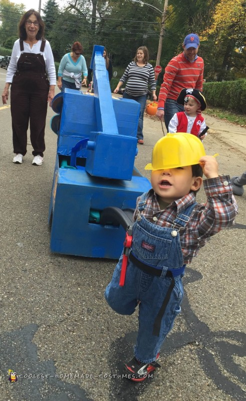 Bob the Builder Costume and His Buddy Lofty - 1