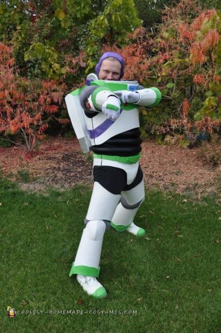 Buzz Lightyear Costume to Infinity and Beyond