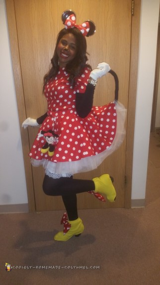 Cat Got Your Tongue Minnie Mouse Costume