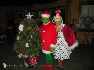 christmas tree cindy lou who and the grinch costumes