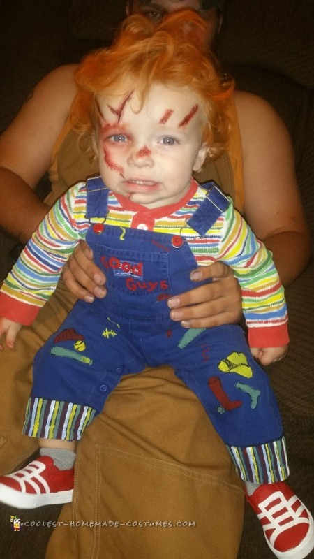 Creepy Toddler Chucky Doll Costume