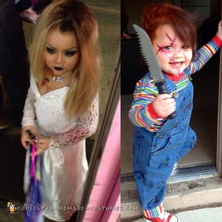 Chuckys Bride Toddler Costume