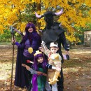 Clash of the Clans Family Homemade Costumes