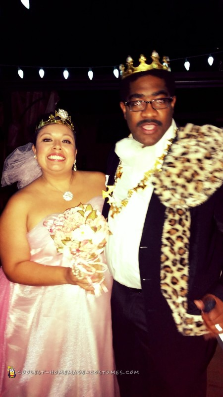 Coming to America Prince and Princess of Zamunda Couple Costume