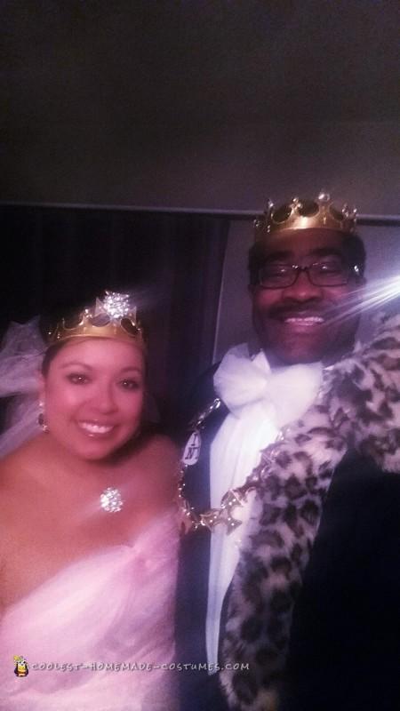 Coming to America Prince and Princess of Zamunda Couple Costume - 3