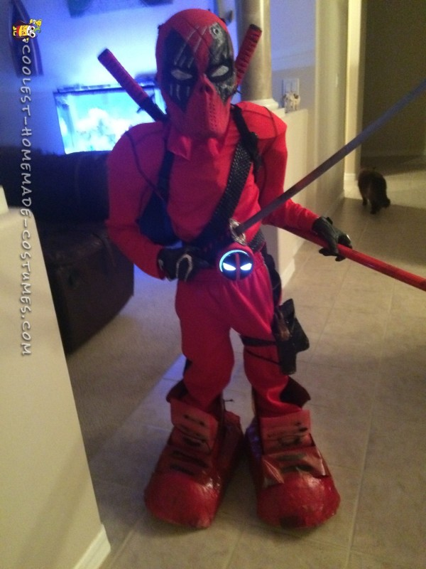 Cool Deadpool Costume - 1
