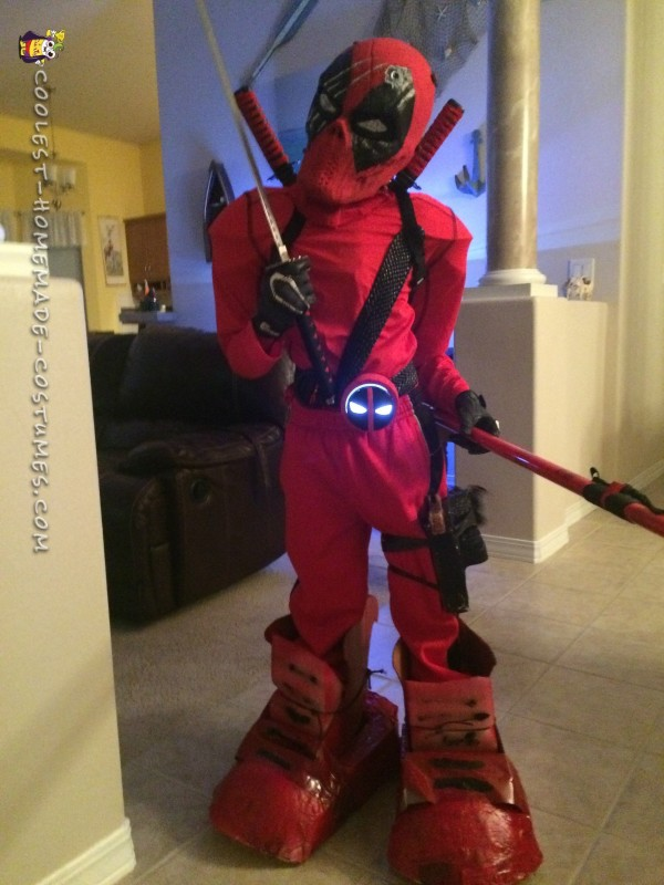 Cool Deadpool Costume