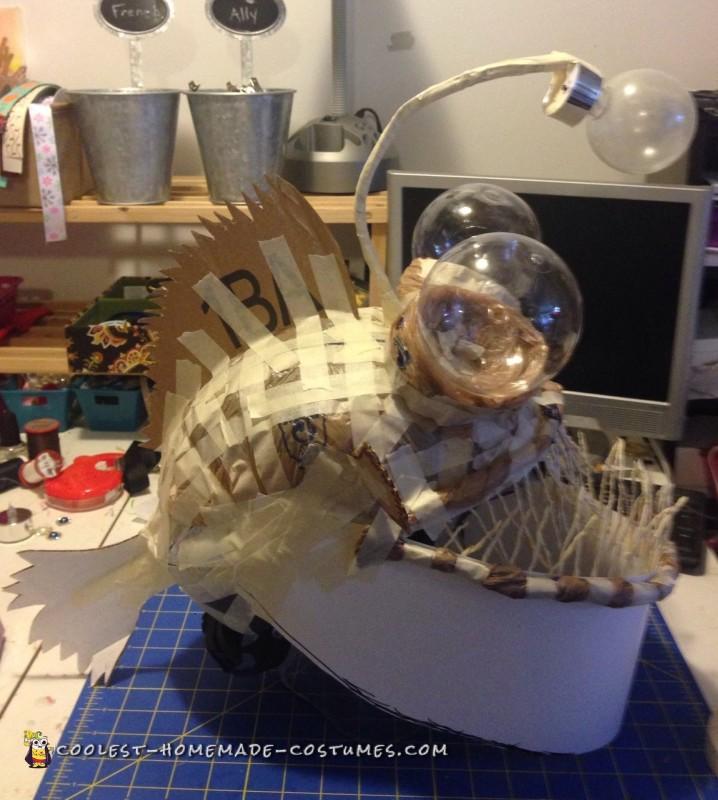 Coolest homemade costumes coolest angler fish in a for Angler fish costume
