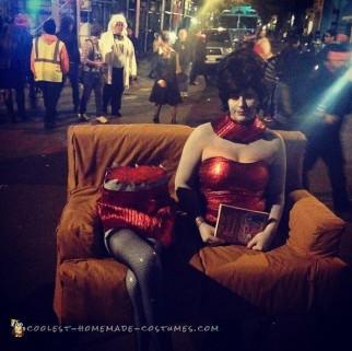 Coolest Beetlejuice Themed Illusion Costume
