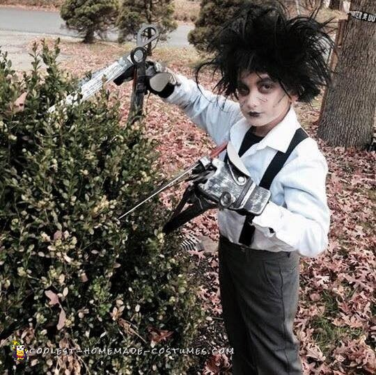 Cool Edward Scissorhands Costume