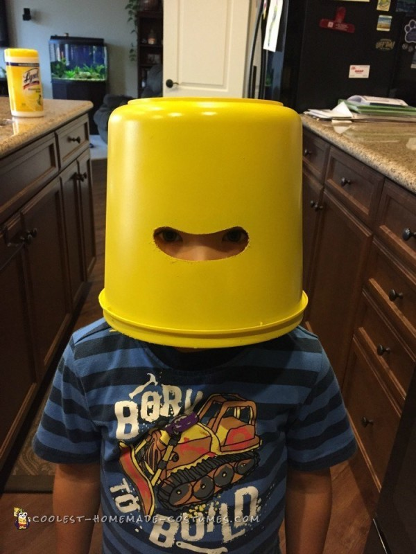 Coolest Emmett Lego Minifigure Costume - 4