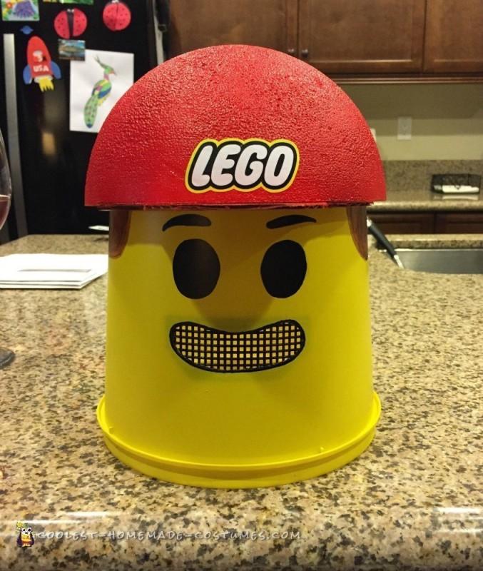 Coolest Emmett Lego Minifigure Costume - 5