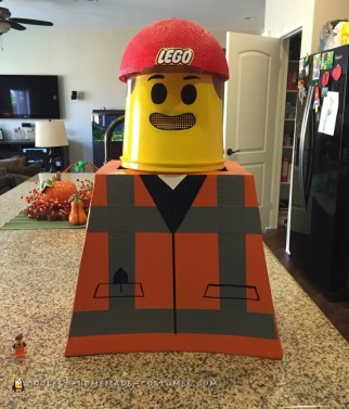Coolest Emmett Lego Minifigure Costume