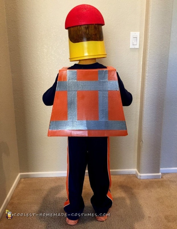 Coolest Emmett Lego Minifigure Costume - 1