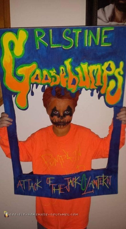 Goosebumps Book Costume Idea