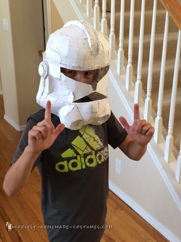 Coolest Homemade Captain Rex Costume for 10-Year-Old