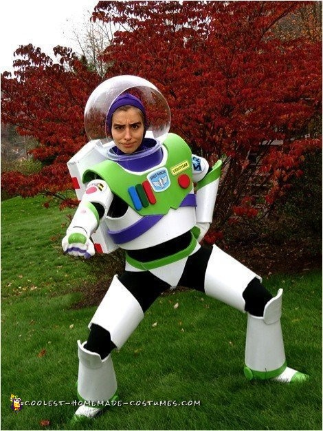 Coolest Homemade Mrs. Nesbitt/Buzz Lightyear Costume