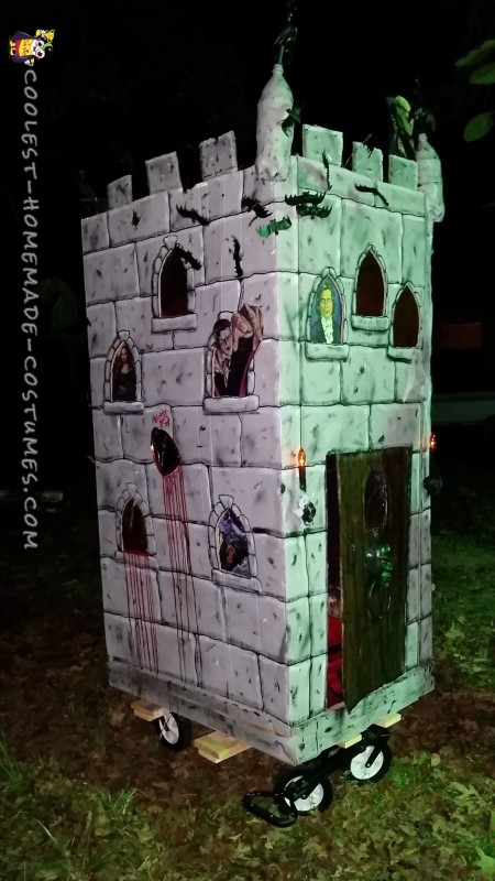 Coolest Kid's Haunted Castle Costume