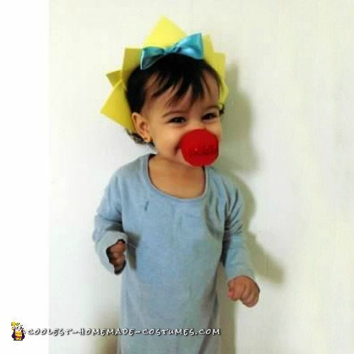 Coolest Maggie Simpson Costume for a Baby