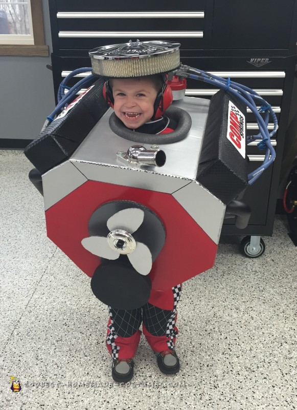 Coolest Small Block Chevy V8 Engine Costume!