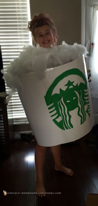 Coolest Starbucks Giant Cup 1st Place Costume
