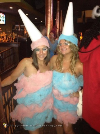 Cotton Candy Couple Costume