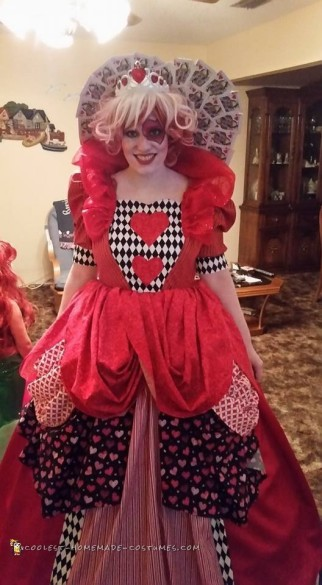 Couture Queen of Hearts Costume