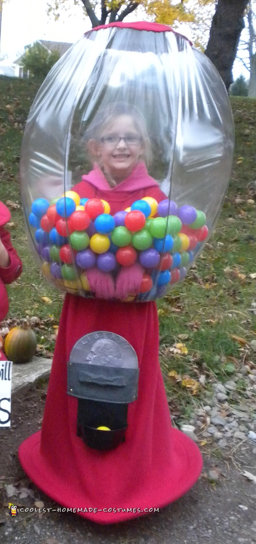 Creative Gumball Machine Costume