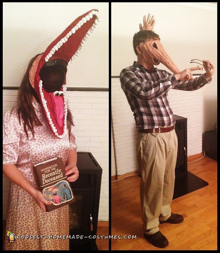 Creepy Beetlejuice Couple Costume: The Maitlands