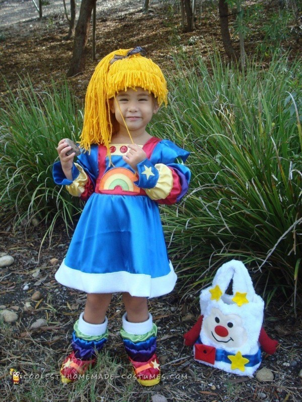 Rainbow brite adult halloween costume