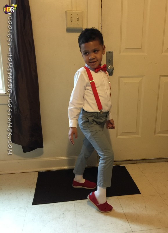 Cutest Pee Wee Herman Costume for a Kid