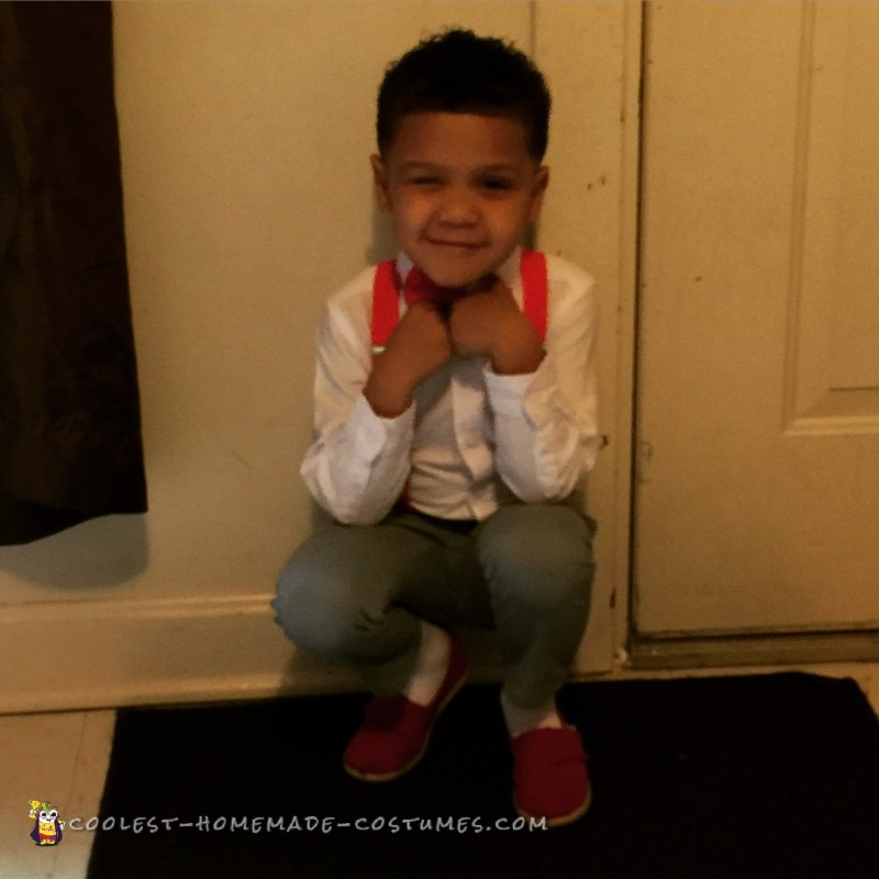 Cutest Pee Wee Herman Costume for a Kid