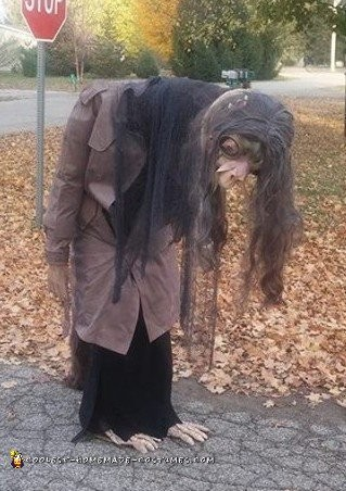 Dark Crystal Inspired Costume with Moving Head and Neck