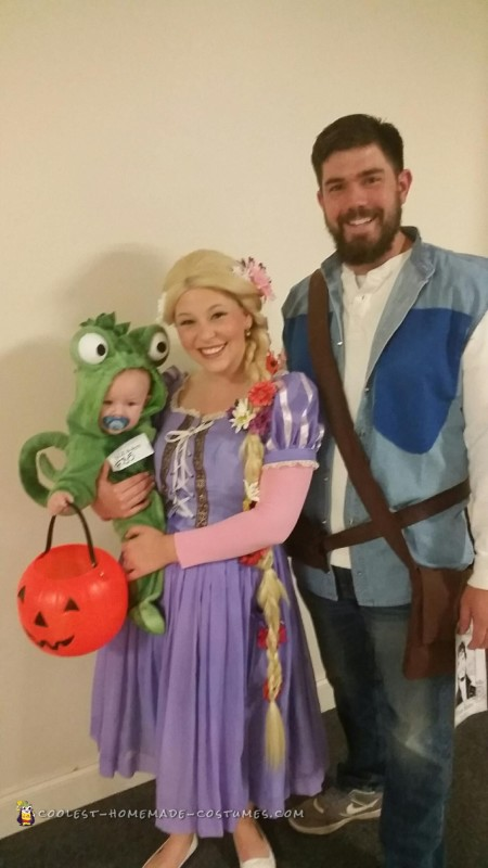 Our winning family costume!