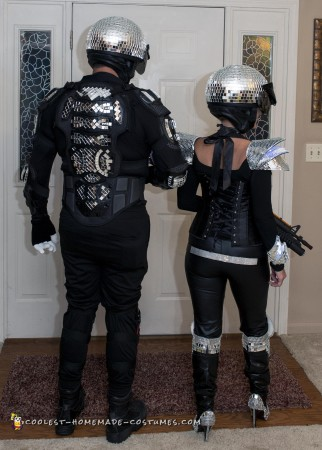 Disco Space Troopers Couples Costume
